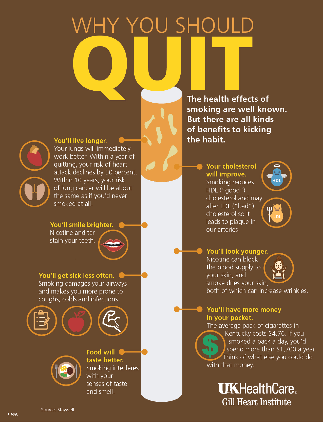 Why You Should Quit - Infographic Facts