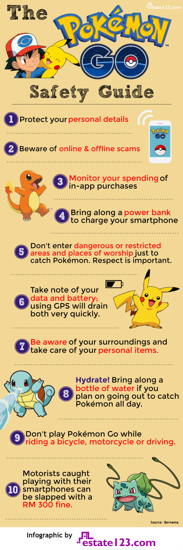 The Pokemon Go Safety Guide