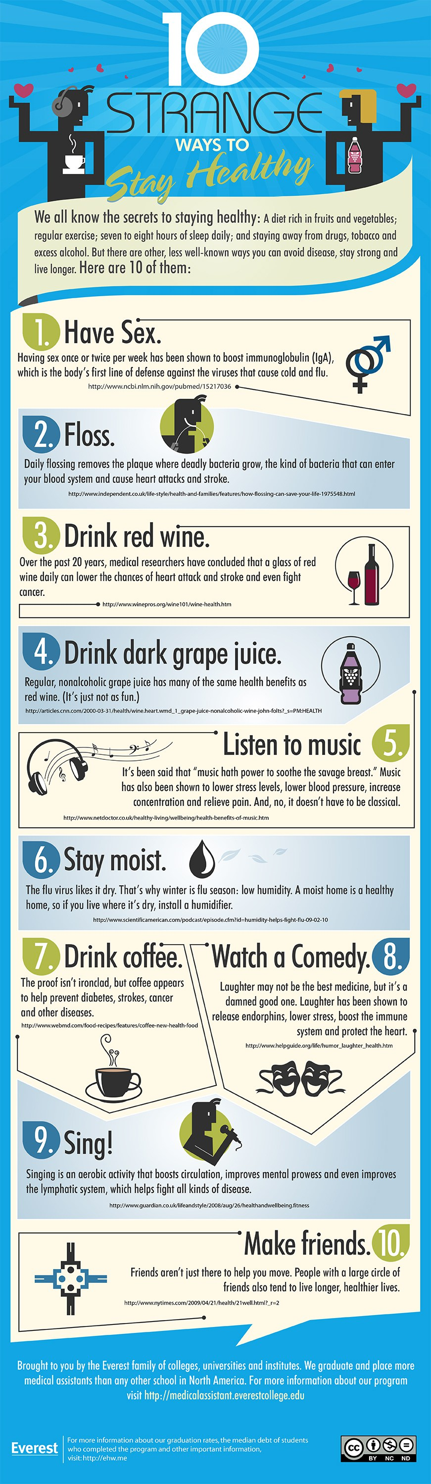 10 Strange Ways to Stay Healthy