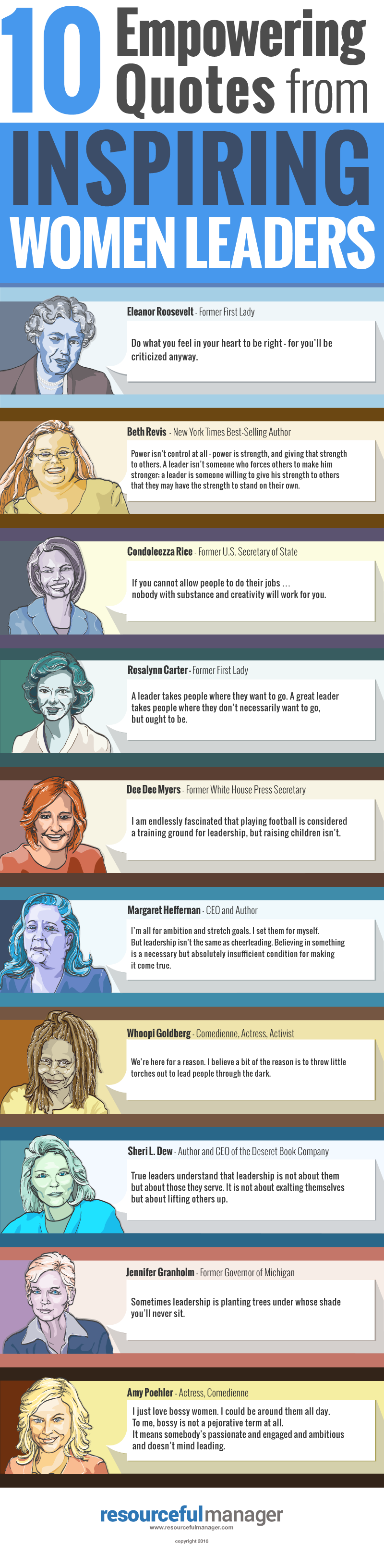 10 Empowering Quotes from Inspiring Women Leaders