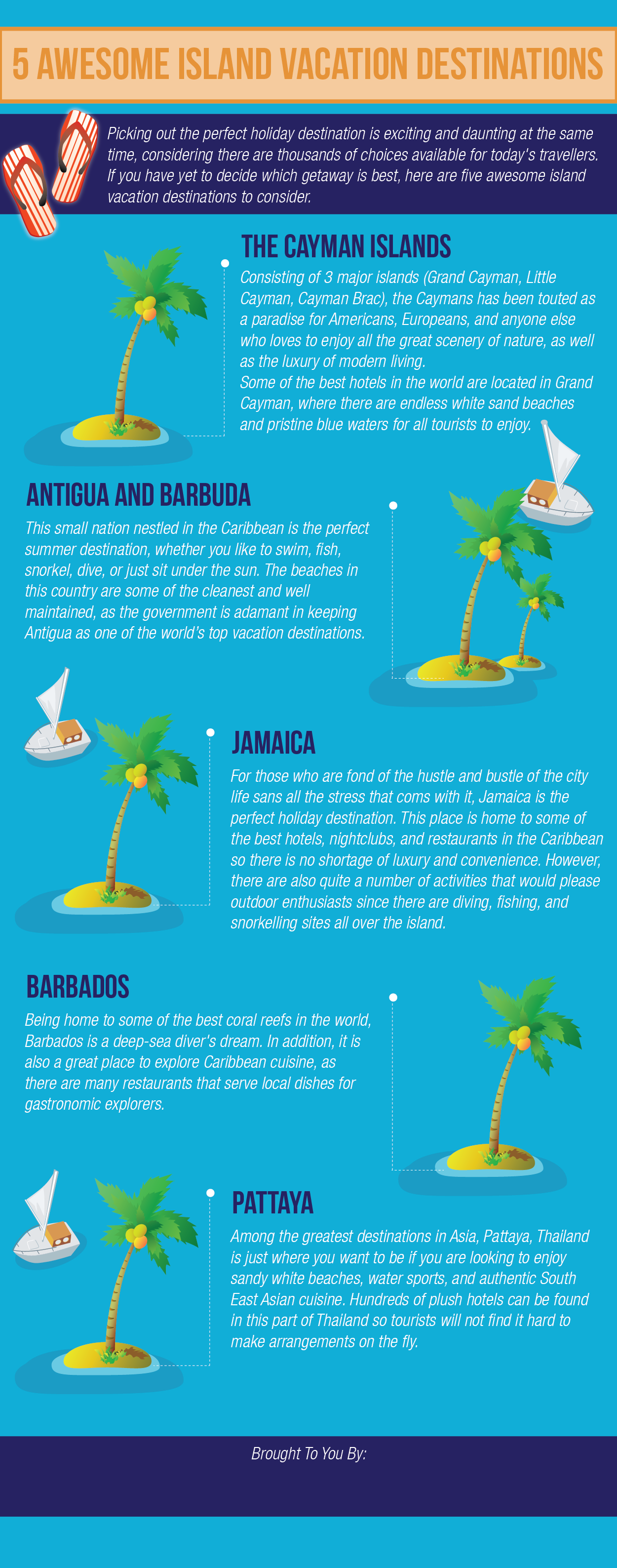 5 Awesome Island Vacation Destination