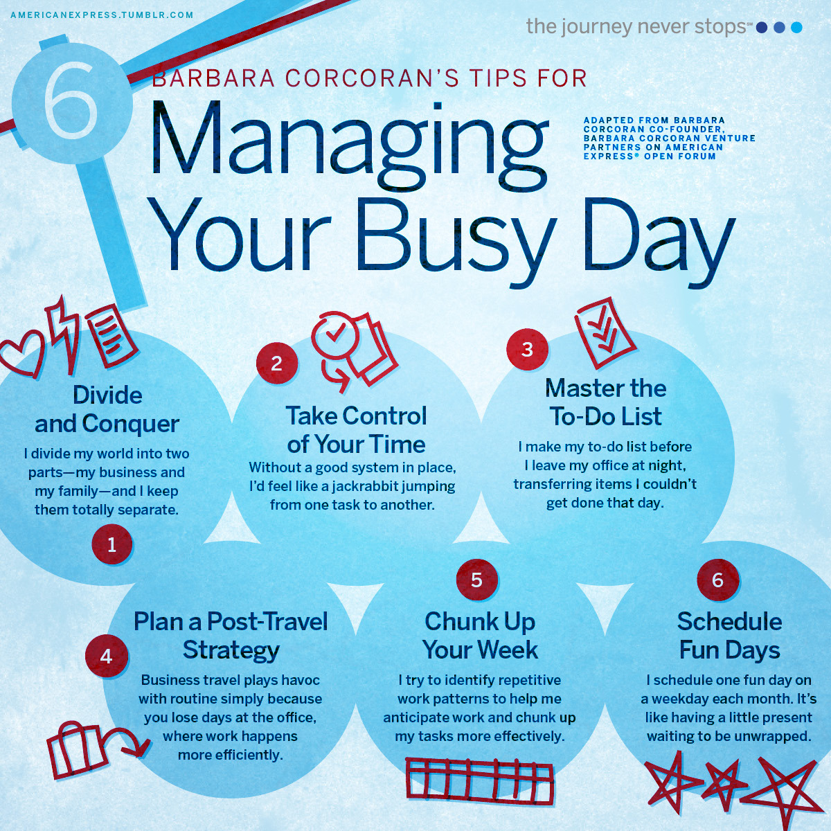 6 Tips For Managing Your Busy Day