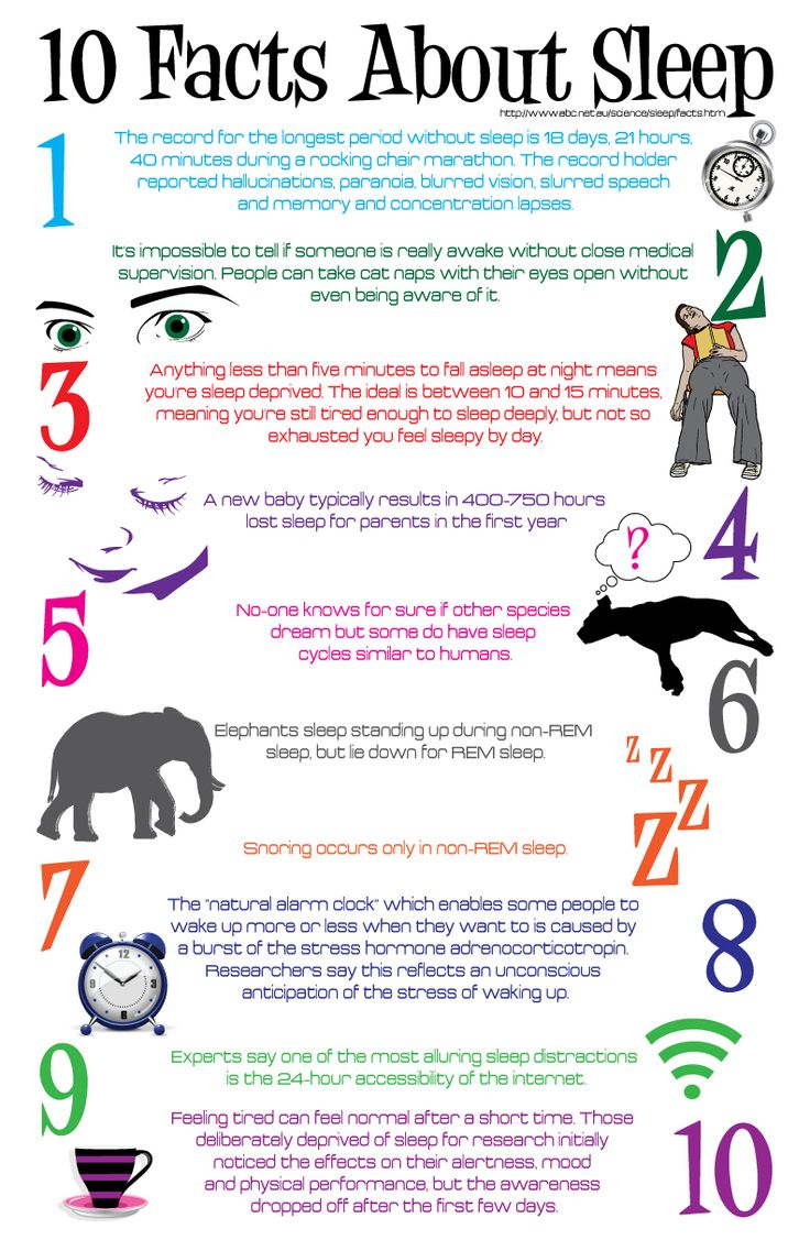 10 Facts About Sleep