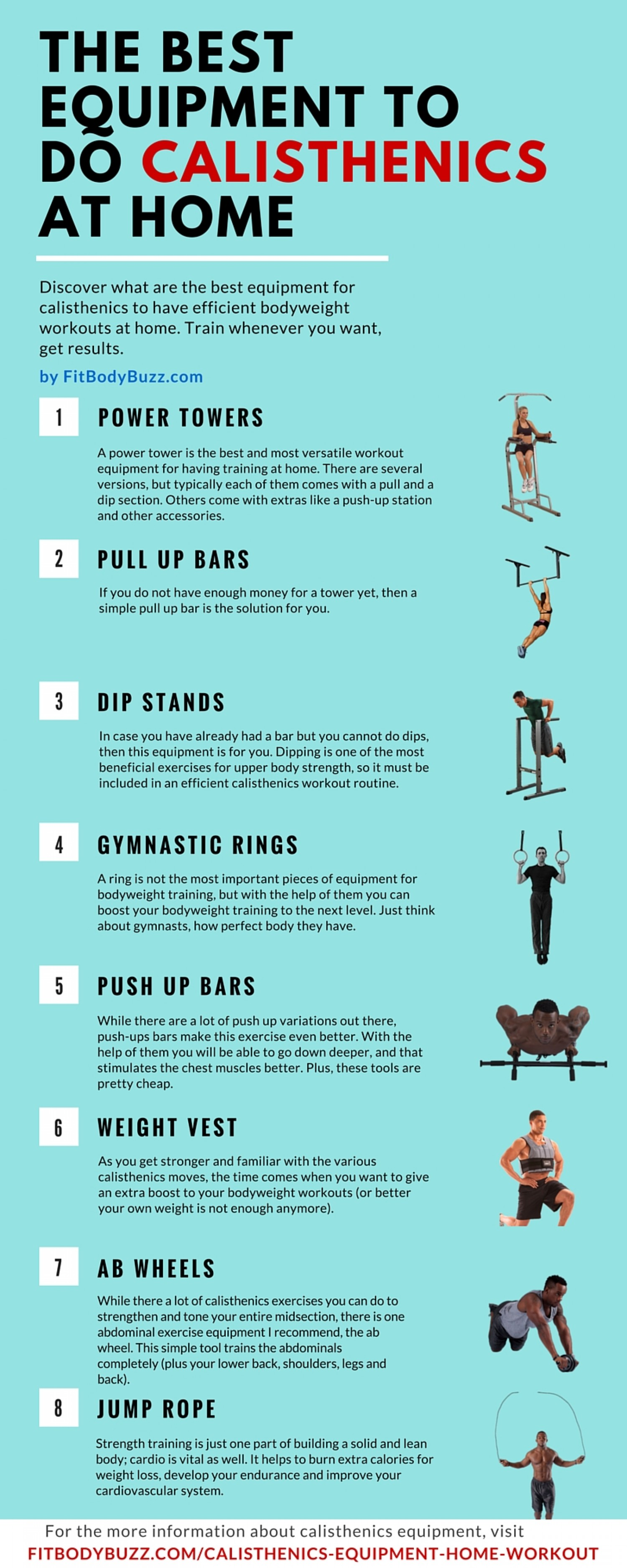 The Best Equipment To Do Calisthenics At Home