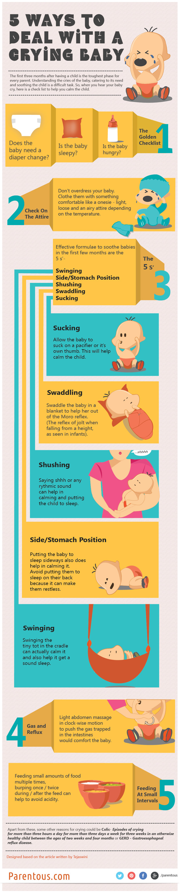5 Ways to Deal with a Crying Baby
