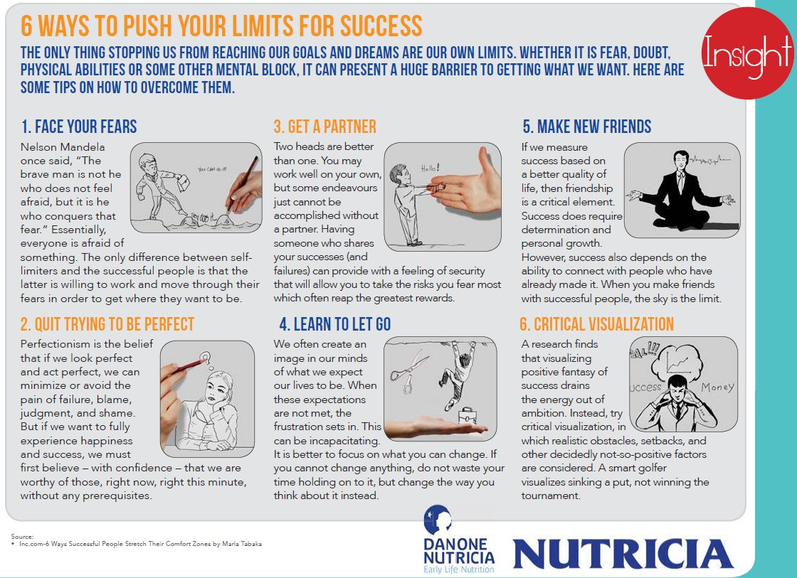 6 Ways to Push your Limits for Success