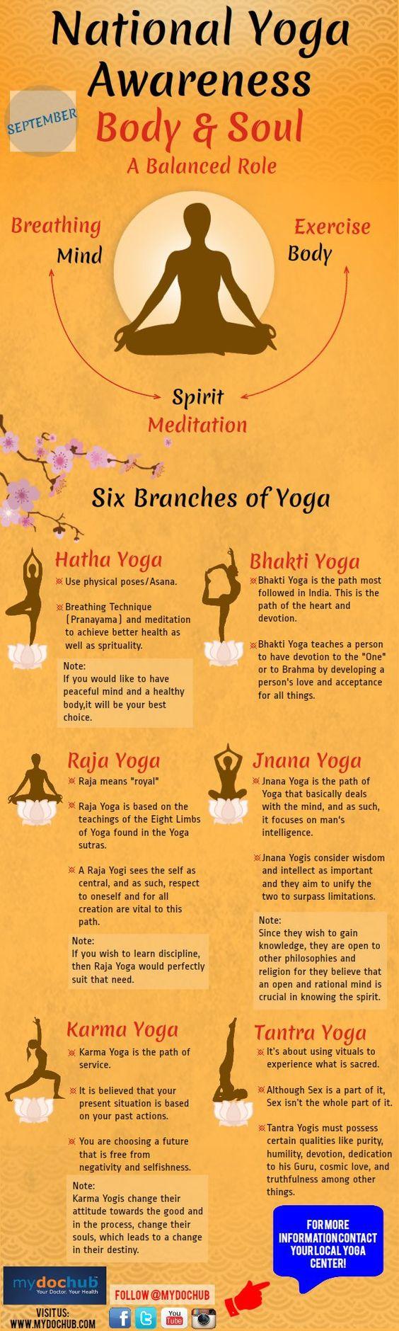 National Yoga Awareness: Body & Soul