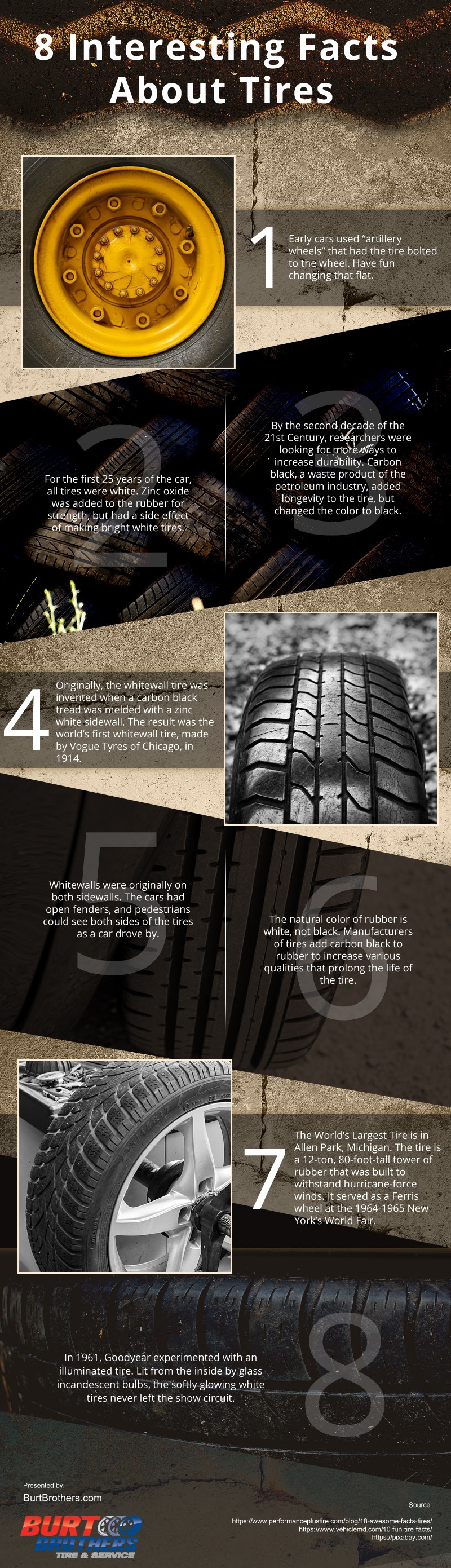 Interesting Facts About Tires